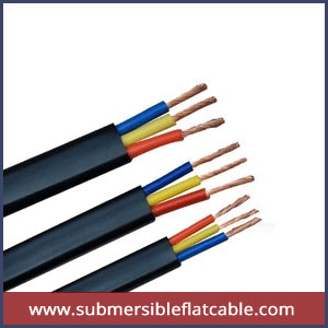 Flexible submersible cable