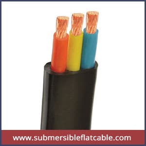 submersible motor cables